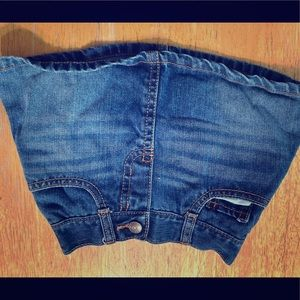 Oshkosh jean skirt with hidden shorts